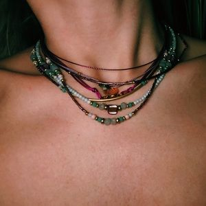 Hand Made Layered Necklace